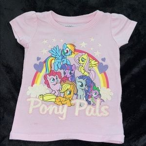 My little pony pink baby shirt size 18 months